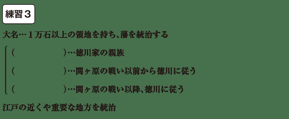 中学歴史29 練習3 カッコ空欄