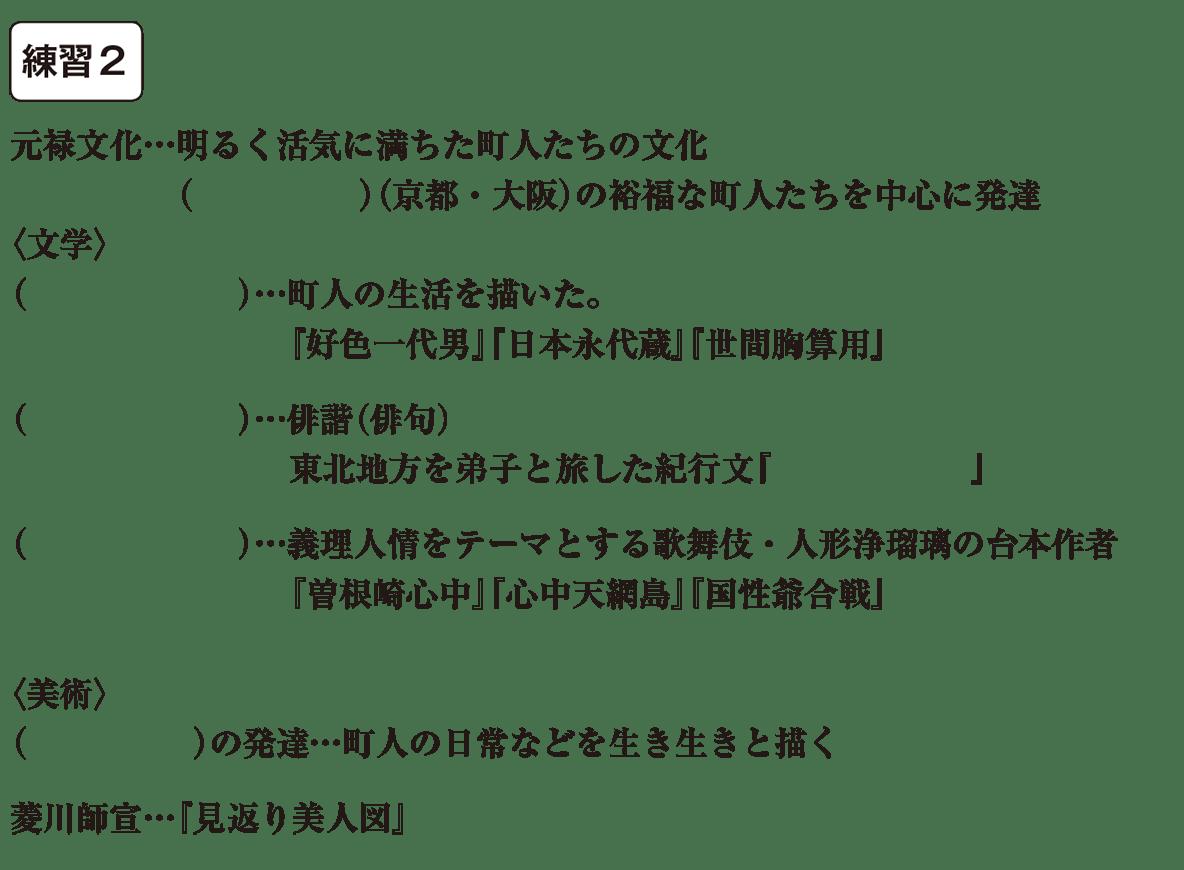 中学歴史32 練習2 カッコ空欄