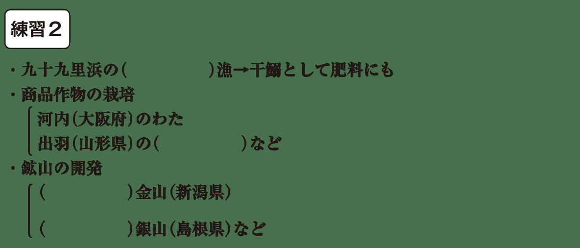 中学歴史33 練習2 カッコ空欄