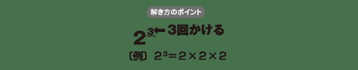 中1 数学12 ポイント