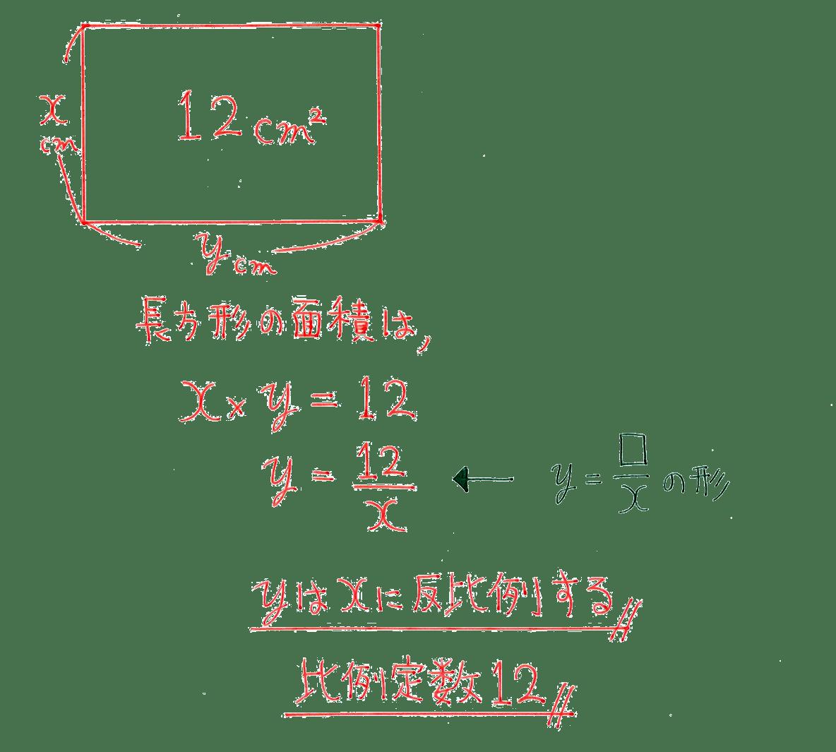中1 数学53 例題の答え