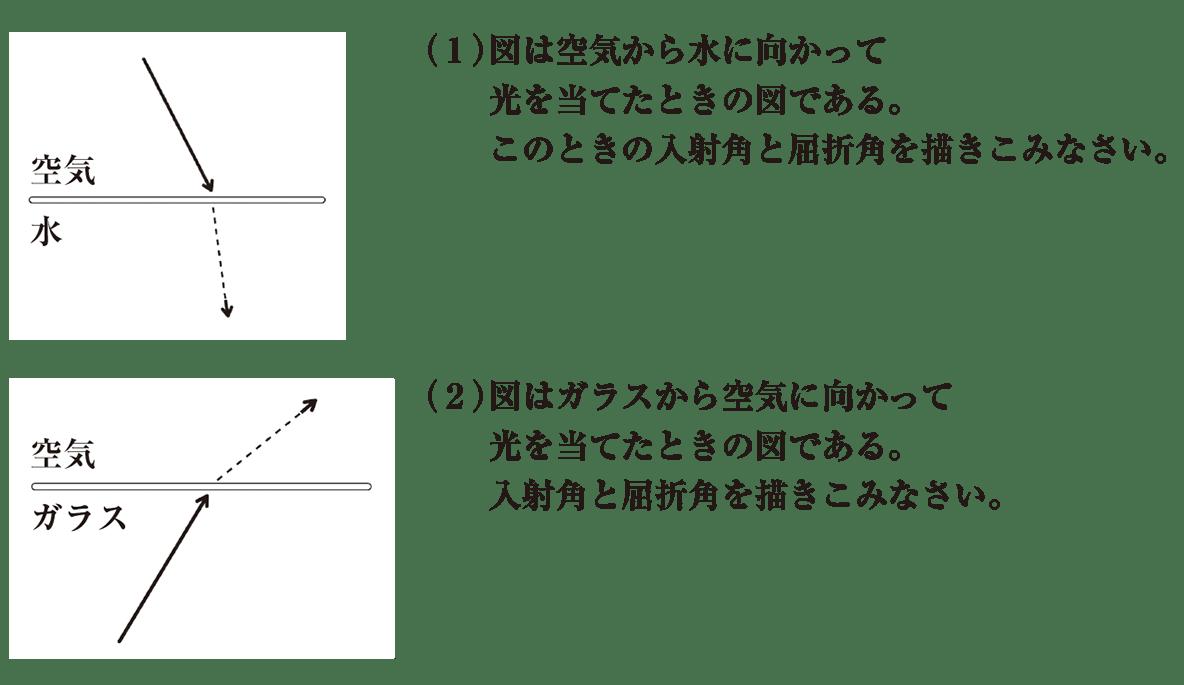 中1 理科物理3 練習1 (1)(2)のみ