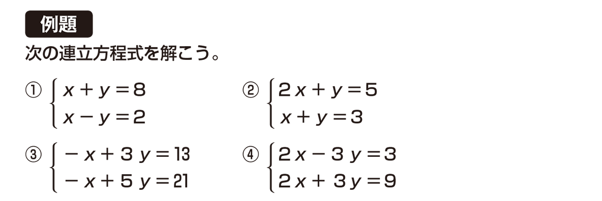 中2 数学98 例題