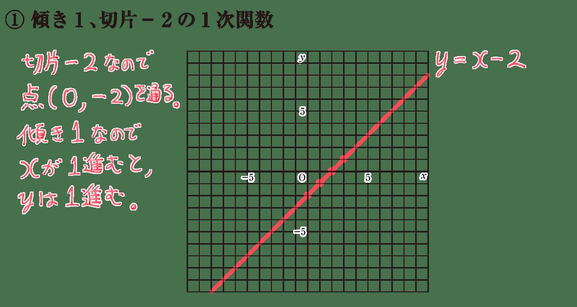 中2 数学110 練習①の答え