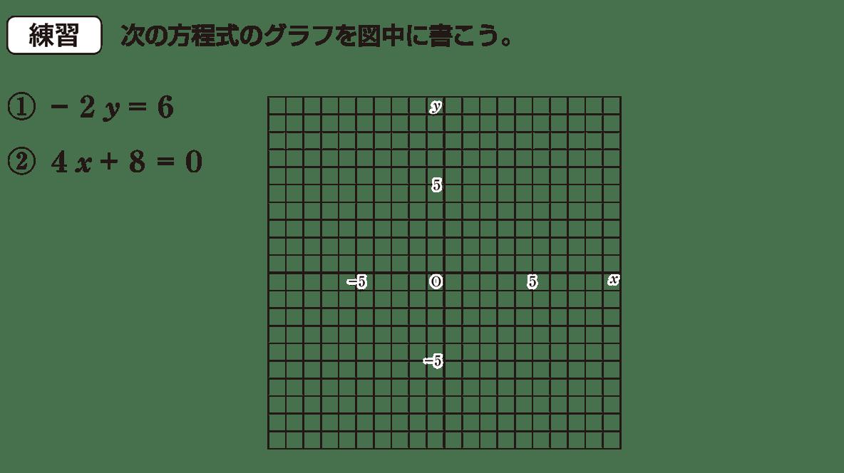 中2 数学116 練習