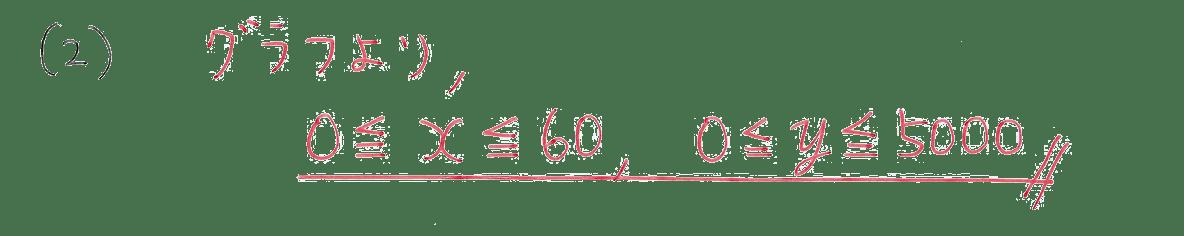 中2 数学119 例題(2)の答え