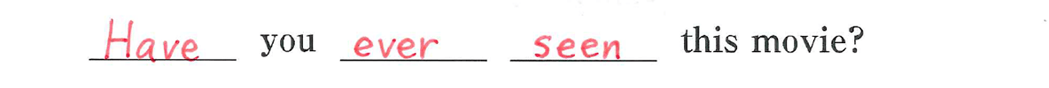 中3 英語85 練習(4)
