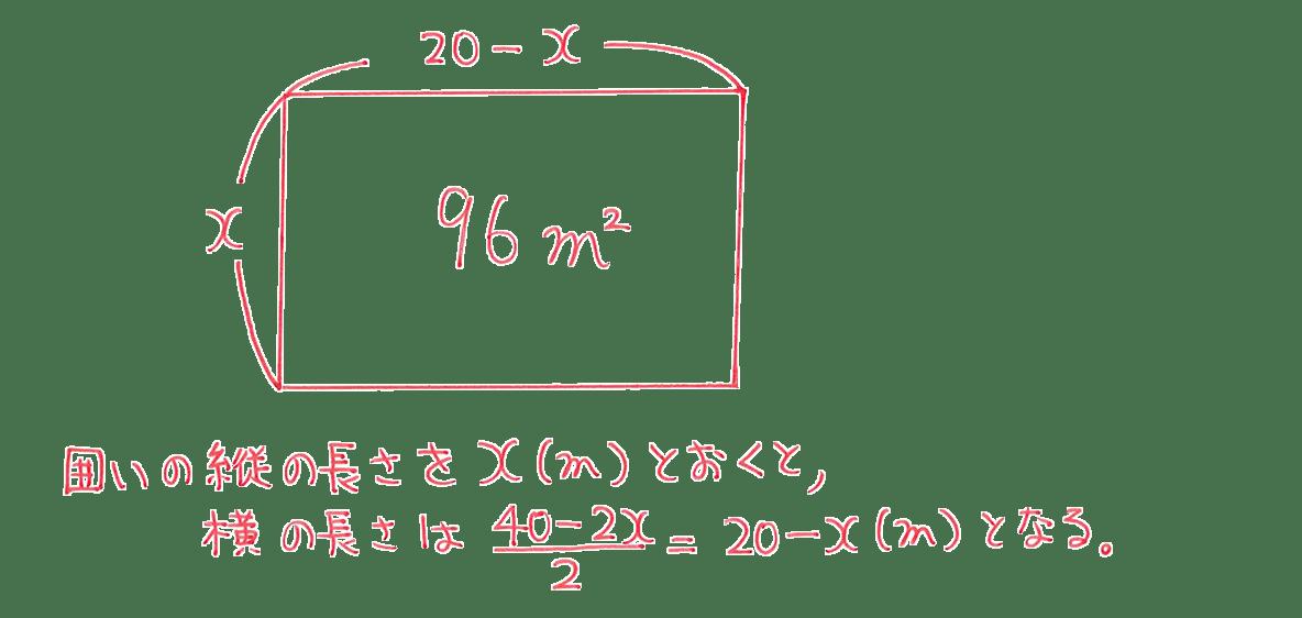 中3 数学203 練習 答え2行目まで+図