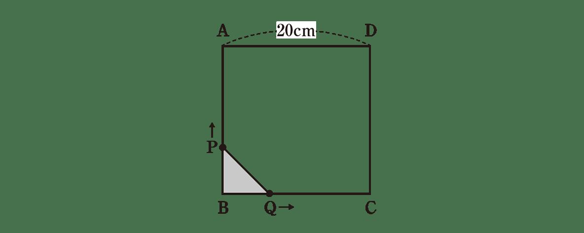 中3 数学217 例題 右側の図の部分だけ