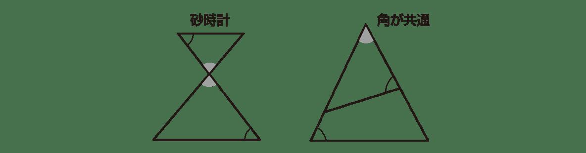 中3 数学223 練習の答え 下部に書かれているヒントの図