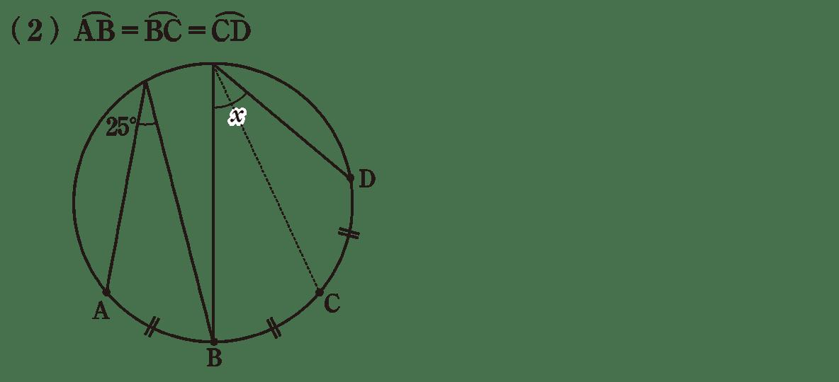 中3 数学243 練習(2)
