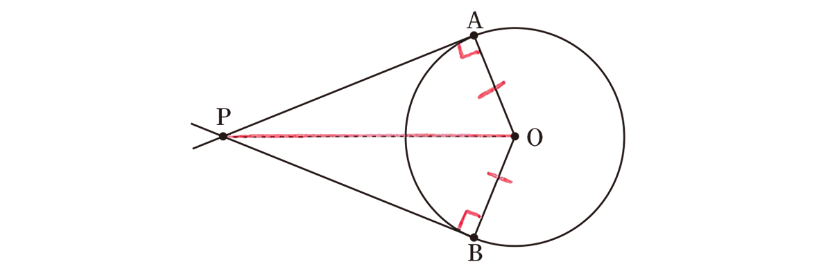 中3 数学247 練習の答え 問題の図に書き込んだもの