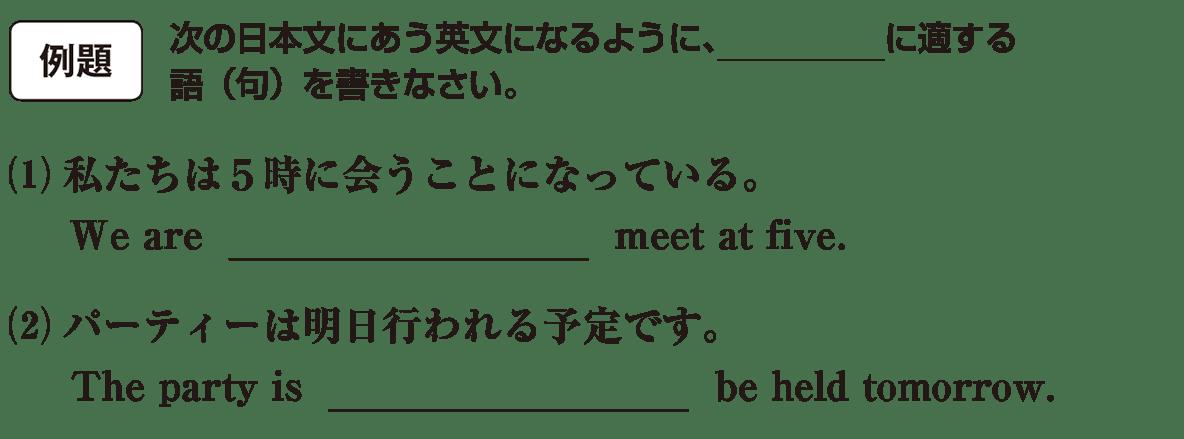 不定詞15の例題(1)(2) アイコンあり