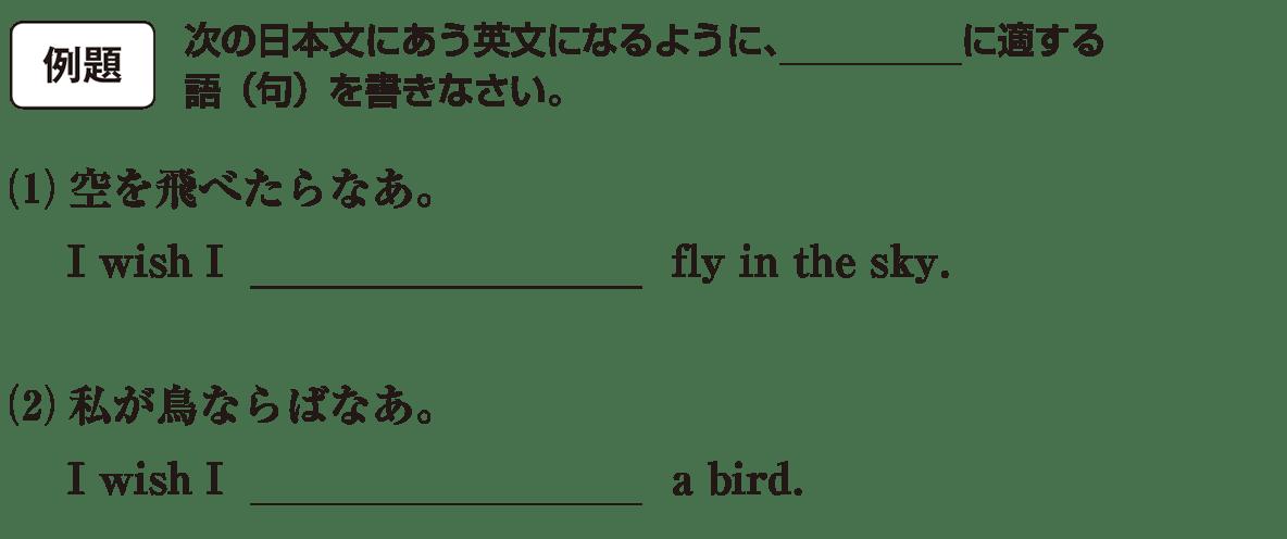 仮定法3の例題(1)(2) アイコンあり