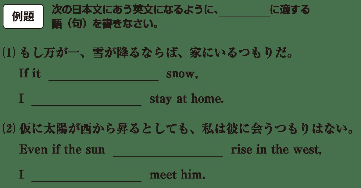 仮定法11の例題(1)(2) アイコンあり