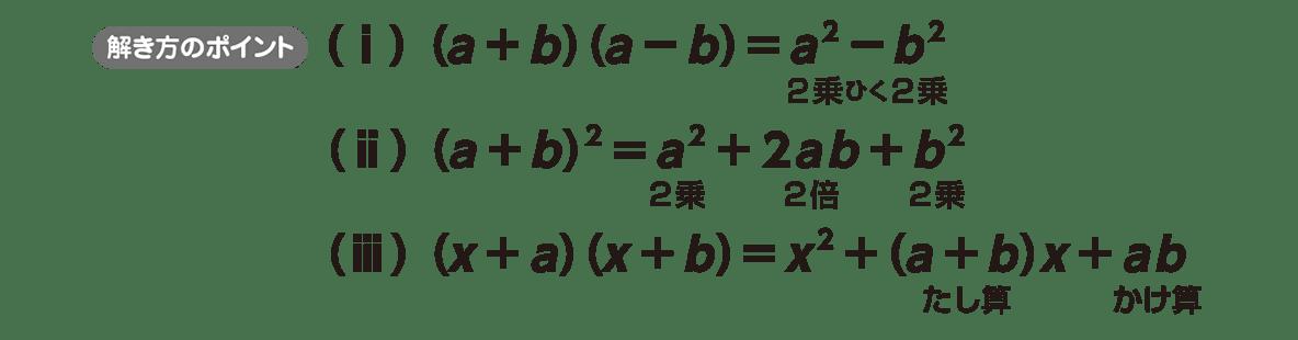 高校数学Ⅰ 数と式9 ポイント