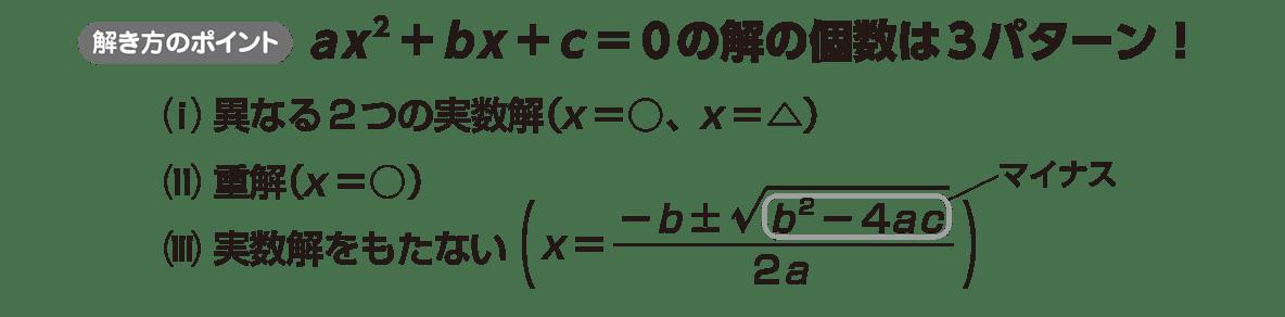 高校数学Ⅰ 数と式55 ポイント