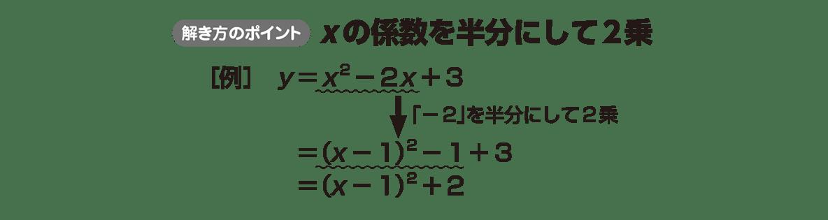 高校数学Ⅰ 2次関数13 ポイント
