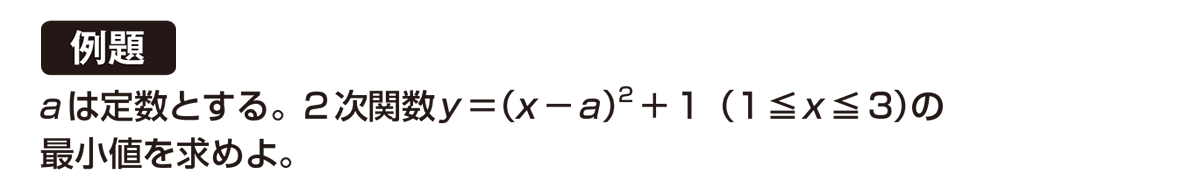 高校数学Ⅰ 2次関数23 例題