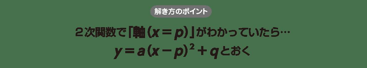 高校数学Ⅰ 2次関数26 ポイント