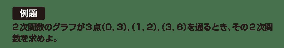 高校数学Ⅰ 2次関数27 例題