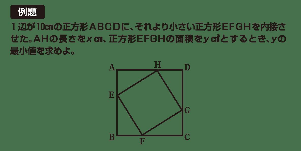高校数学Ⅰ 2次関数30 例題