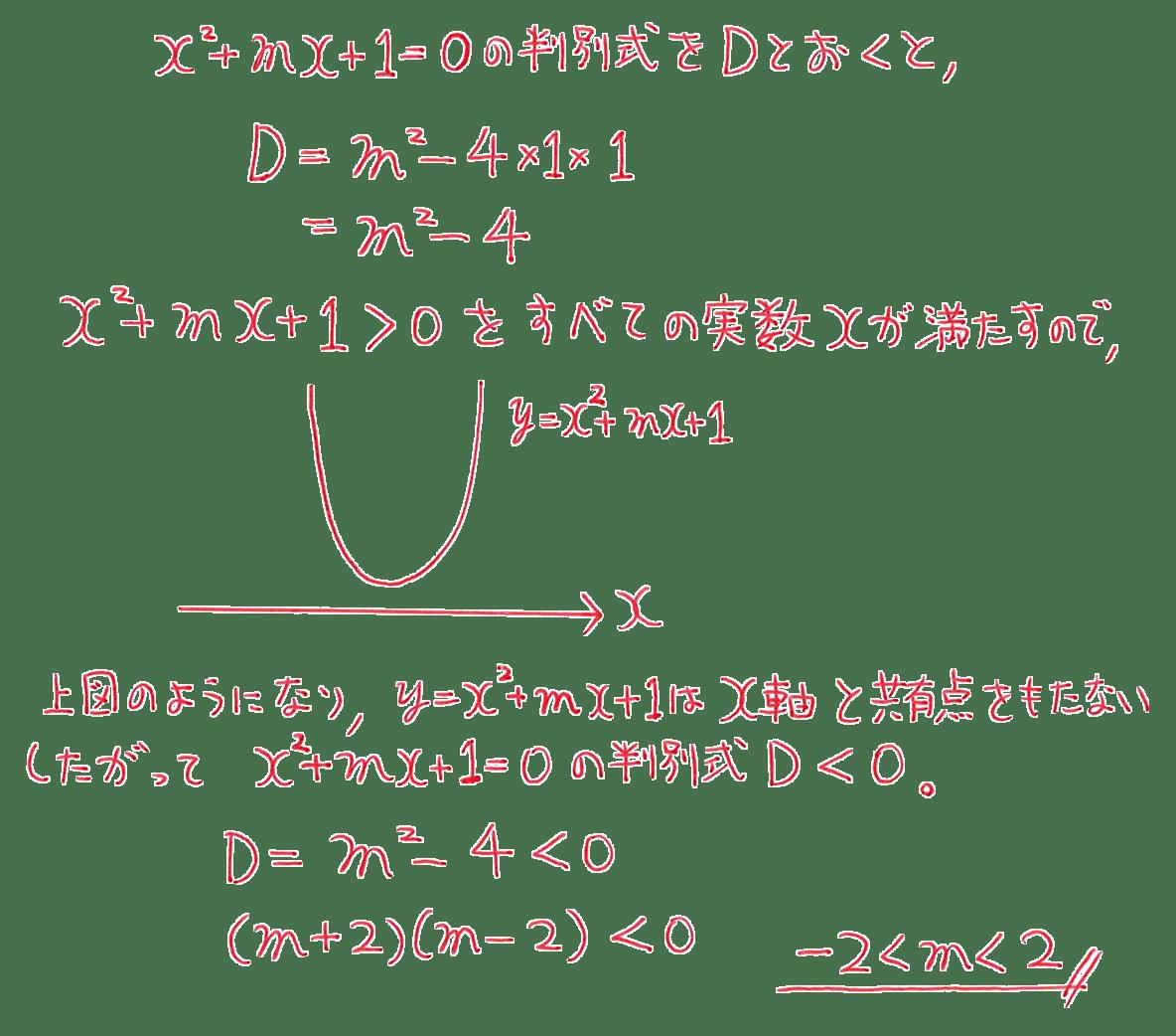 高校数学Ⅰ 2次関数46 例題の答え