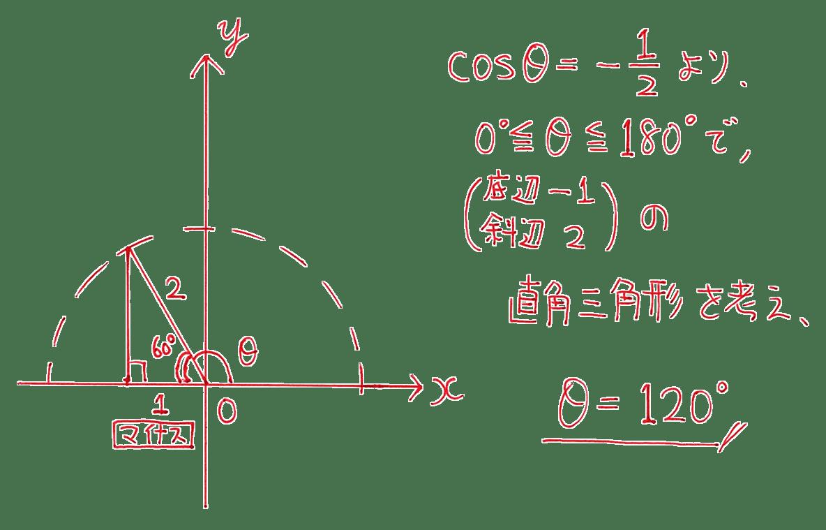 高校数学Ⅰ 三角比15 例題の答え