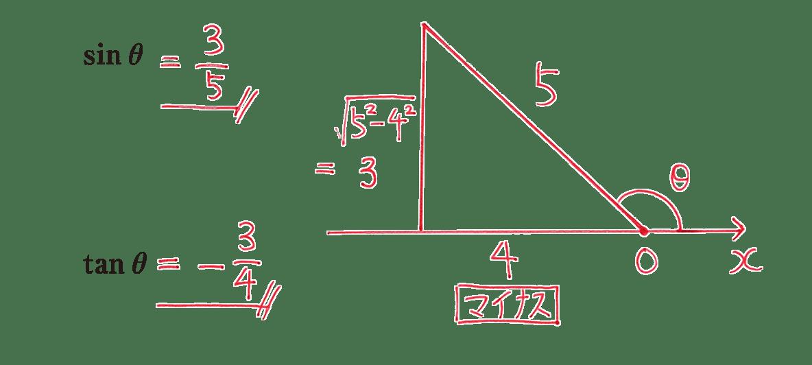 高校数学Ⅰ 三角比17 例題の答え