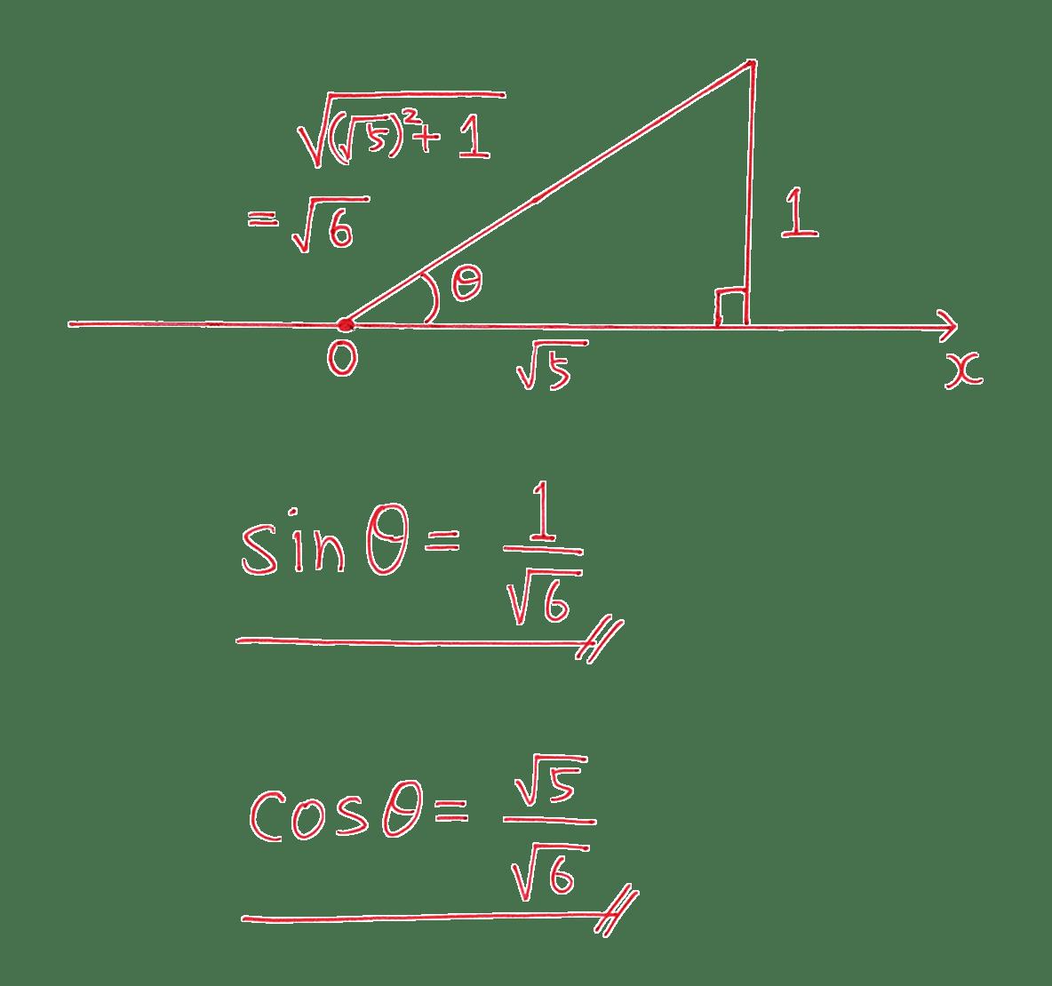 高校数学Ⅰ 三角比17 練習の答え