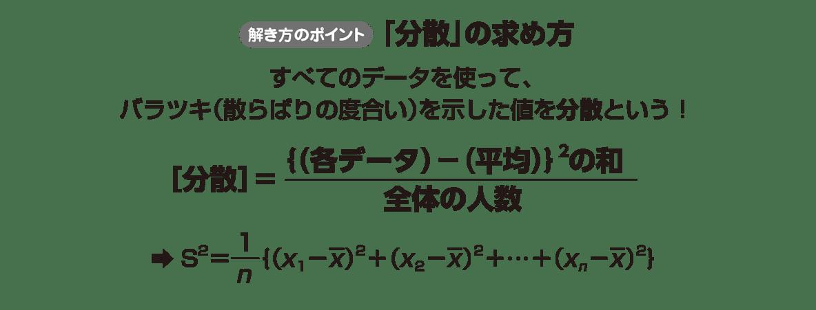 高校数学Ⅰ データ分析10 ポイント