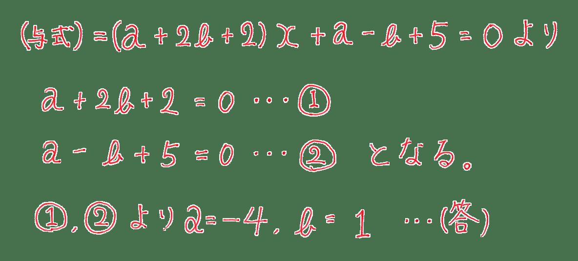 高校数学Ⅱ 式と証明17 例題 答え