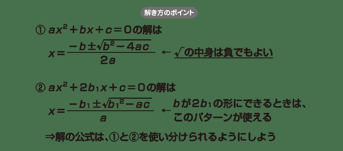 高校数学Ⅱ 複素数と方程式8 ポイント