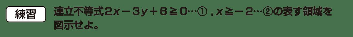 高校数学Ⅱ 図形と方程式31 練習