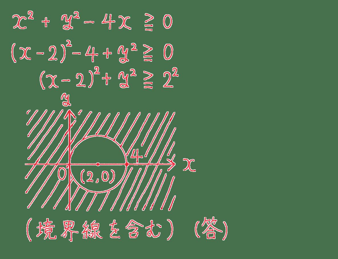 高校数学Ⅱ 図形と方程式32 例題 答え