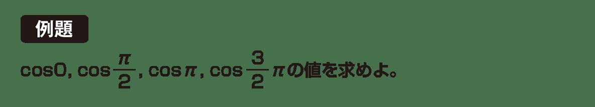 高校数学Ⅱ 三角関数5 例題