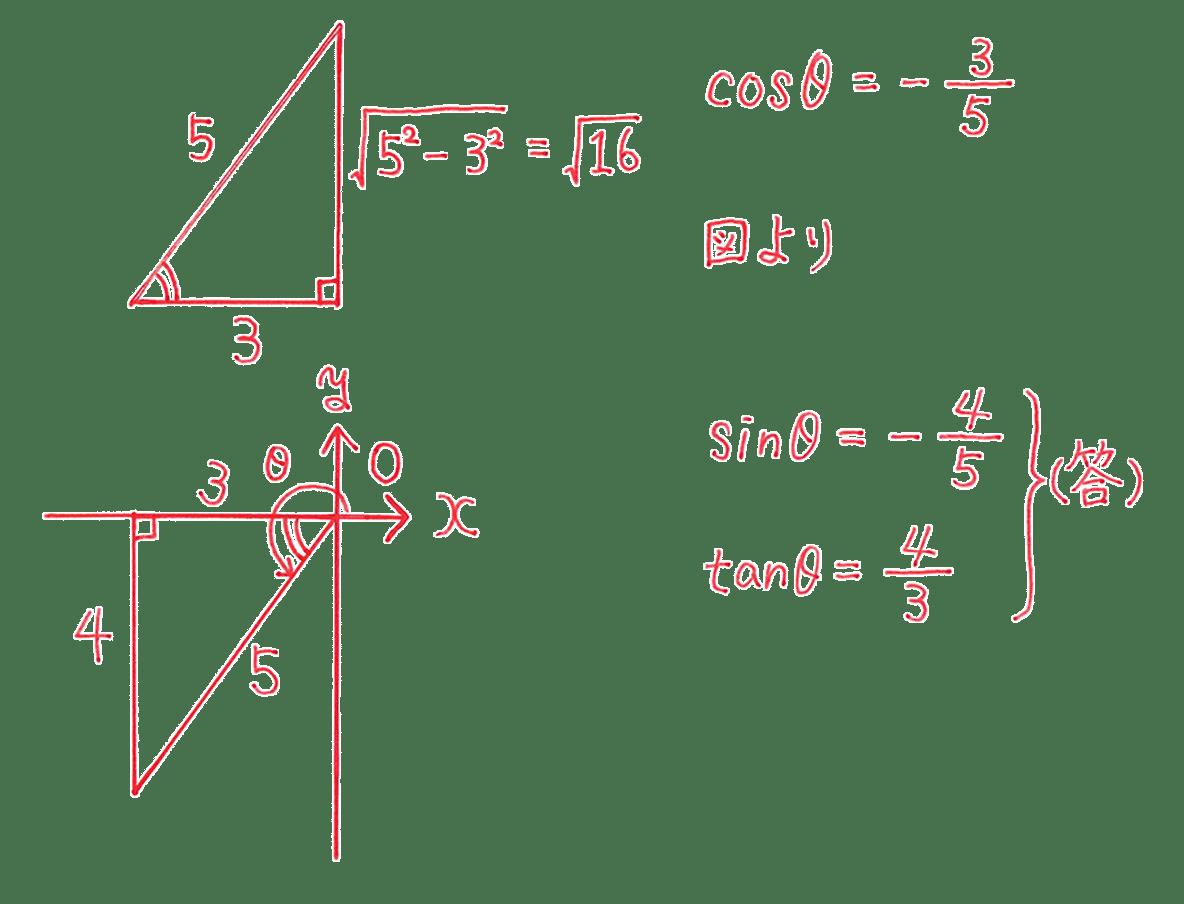 高校数学Ⅱ 三角関数8 例題 答え