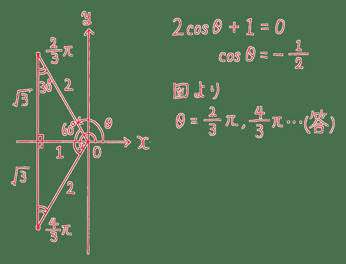 高校数学Ⅱ 三角関数17 例題 答え