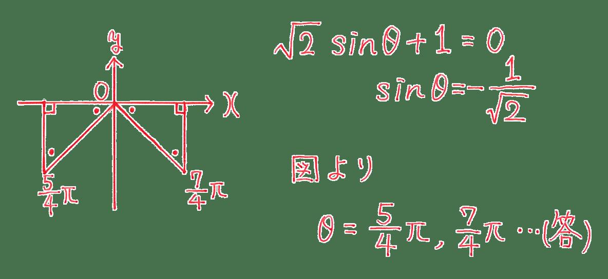 高校数学Ⅱ 三角関数18 例題 答え