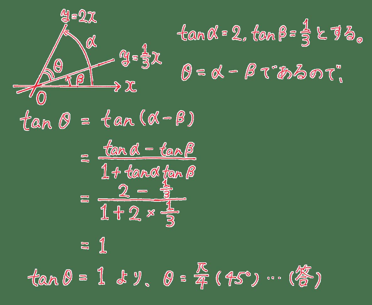 高校数学Ⅱ 三角関数29 練習 答え