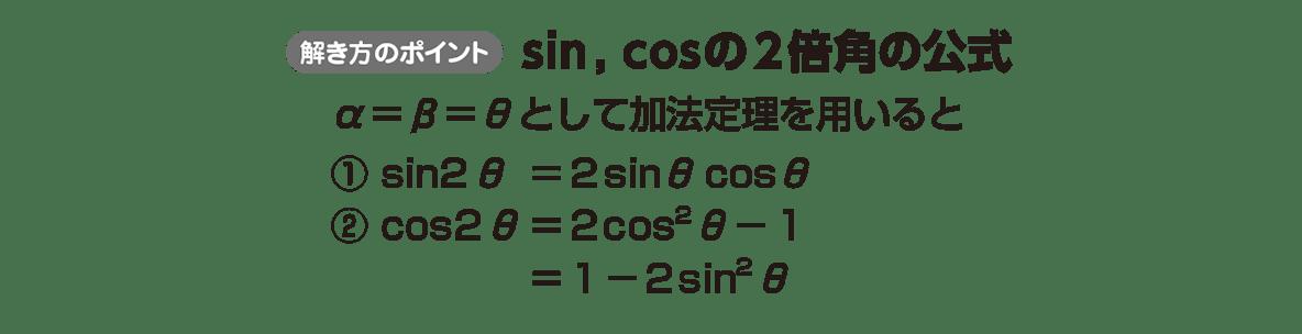 高校数学Ⅱ 三角関数30 ポイント