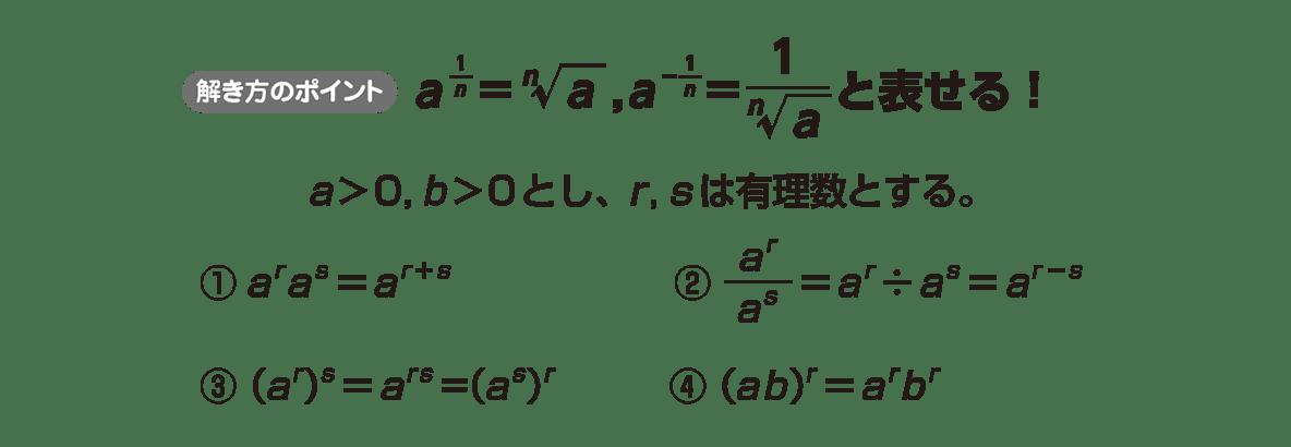 高校数学Ⅱ 指数関数・対数関数4 ポイント