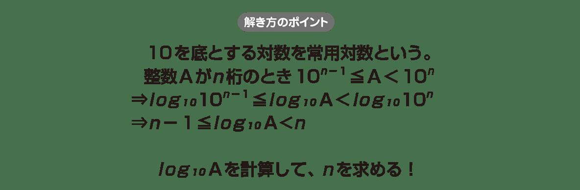 高校数学Ⅱ 指数関数・対数関数23 ポイント
