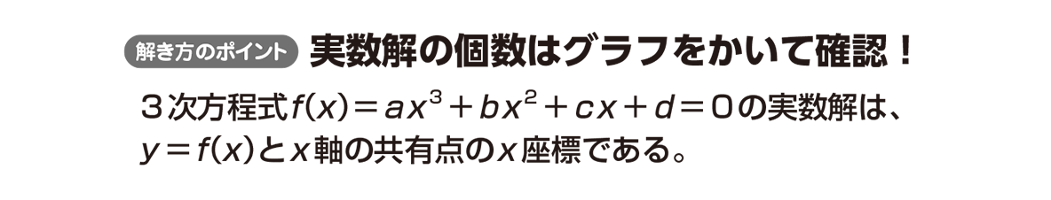 高校数学Ⅱ 微分法と積分法15 ポイント
