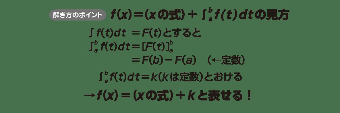 高校数学Ⅱ 微分法と積分法31 ポイント