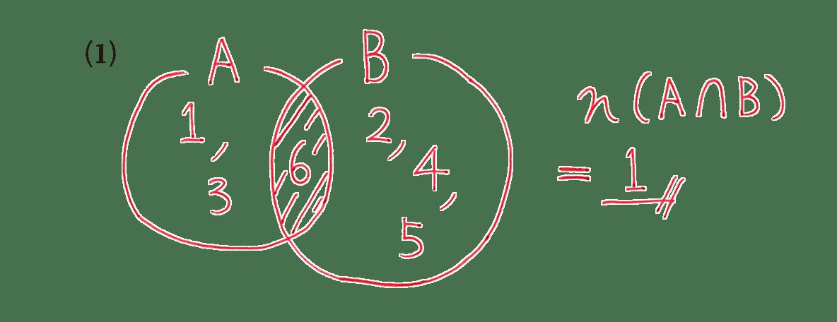 高校数学A 場合の数と確率2 例題(1)の答え