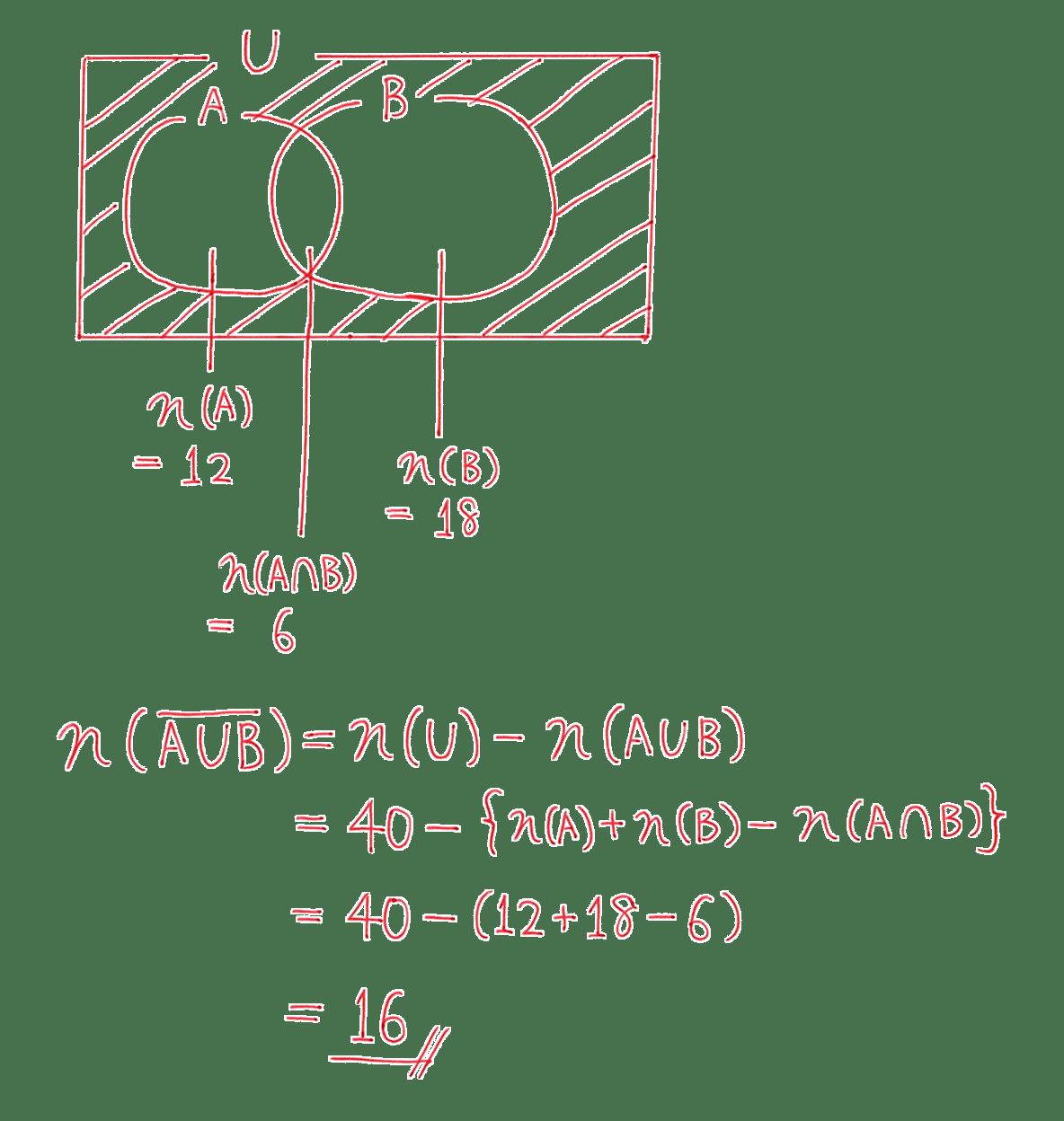 高校数学A 場合の数と確率3 練習の答え