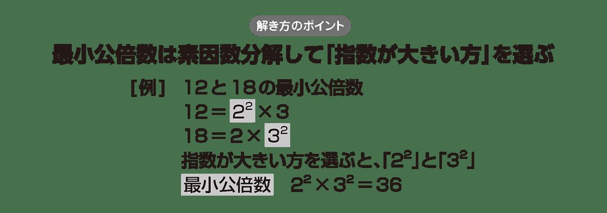 高校数学A 整数の性質12 ポイント