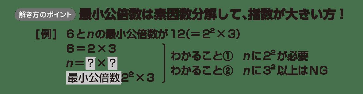 高校数学A 整数の性質13 ポイント