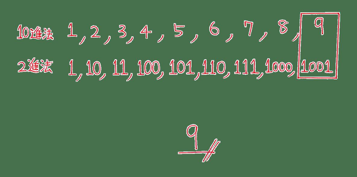 高校数学A 整数の性質36 練習の答え